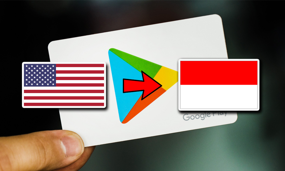 Cara Ganti Negara Google Play Store